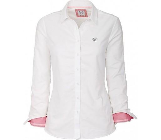 Camasa Crew Clothing Abby Optic White