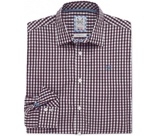 Camasa Crew Clothing Classic Gingham Vine