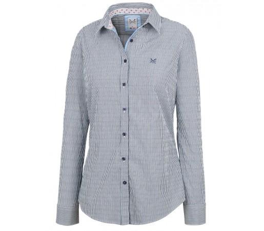 Camasa Crew Clothing Classic Shirt Albastru/Alb