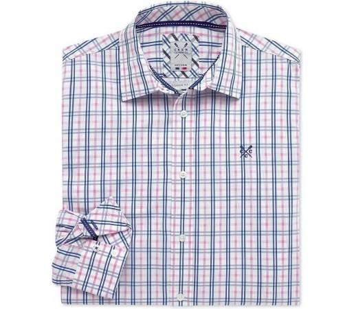 Camasa Crew Clothing Lydford Classic Pink