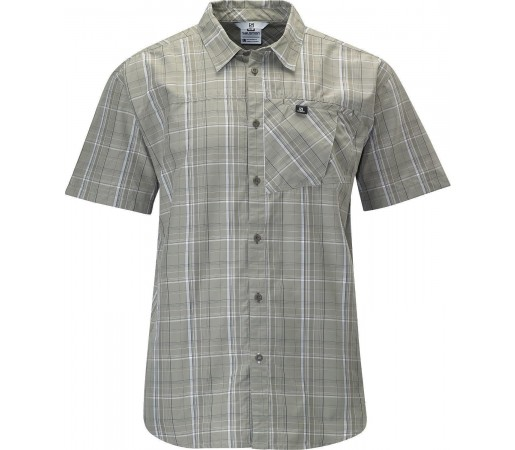 Camasa Salomon Checks Shirt M Titanium 2013