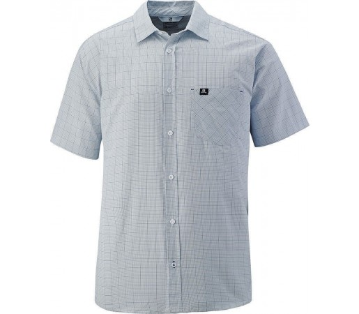 Camasa Salomon Start Shirt M White- Blue