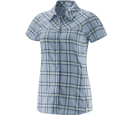 Camasa Salomon Radiant SS Shirt W Albastru