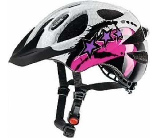 Casca bicicleta Uvex Hero Black- White- Pink