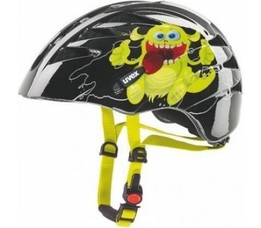 Casca bicicleta Uvex Junior Black- Yellow Print