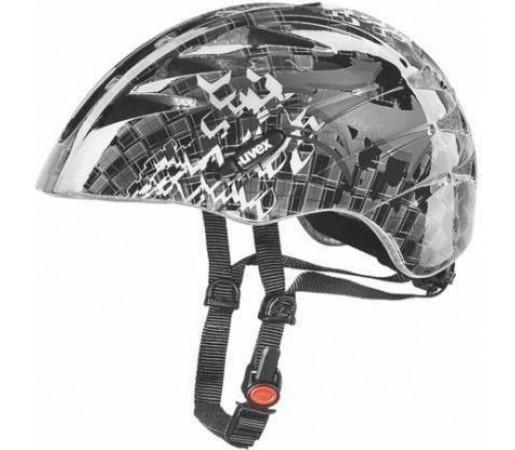 Casca bicicleta Uvex Junior Silver- Grey