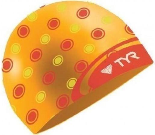 Casca inot Tyr Logo Dot portocalie 2013