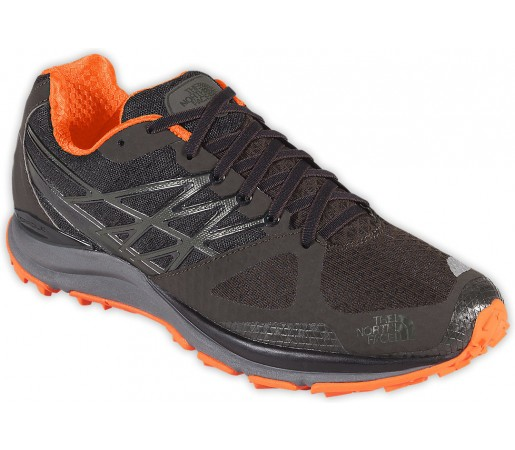 Incaltaminte alergare The North Face M Ultra Cardiac Negru/Portocaliu