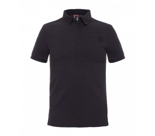 Tricou The North Face M S/S Mountain Polo Negru