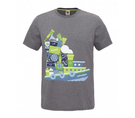Tricou The North Face M S/S NSE Series Gri