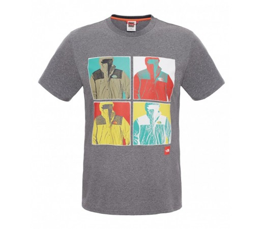 Tricou The North Face M S/S 1990  Gri