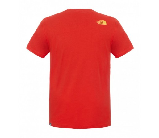 Tricou The North Face M S/S Country Peak Rosu
