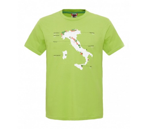 Tricou The North Face M S/S Country Peak Verde