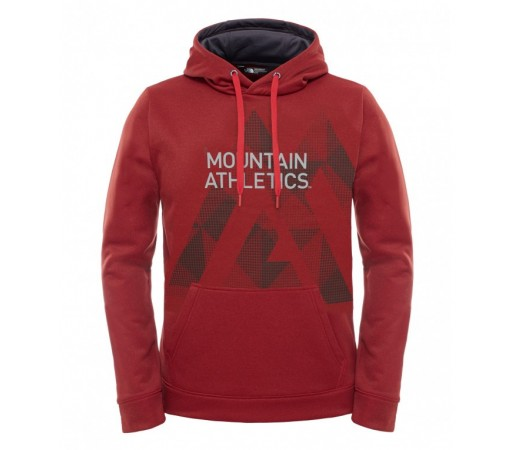 Hanorac The North Face M MA Graphic Surgent Hoodie Rosu