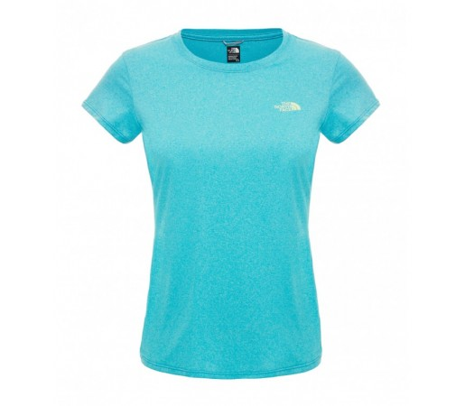 Tricou The North Face W Reaxion Ampere Crew Verde/Gri