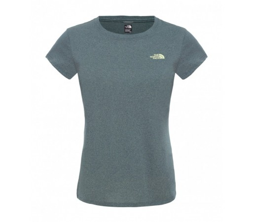 Tricou The North Face W Reaxion Ampere Crew Verde