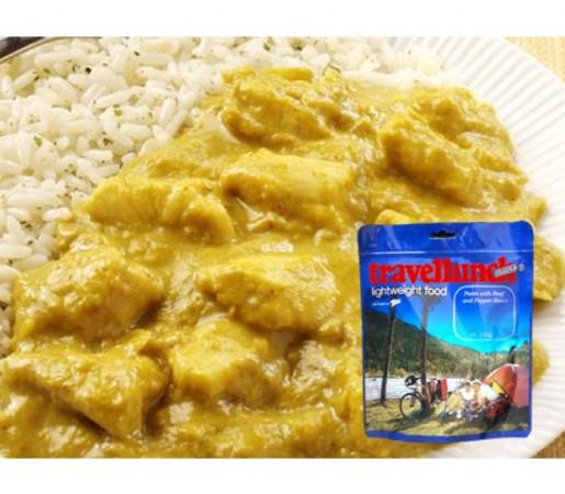 Aliment Travellunch carne de pui in sos curry cu orez