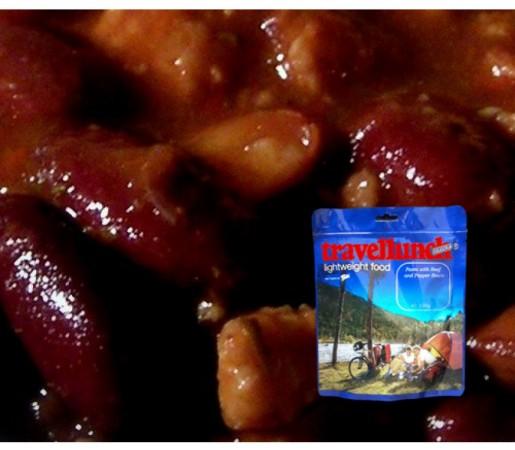 Aliment Travellunch chilli cu carne