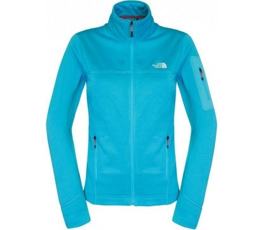Midlayer The North Face Kyoshi W Full Zip Blue Turquoise
