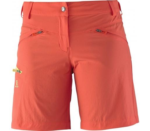 Pantaloni Salomon Wayfarer Short W Rosu