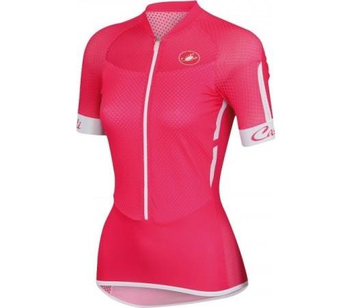 Tricou ciclism Castelli Climbers W Roz