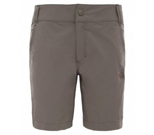 Pantaloni scurti The North Face W Exploration Maro