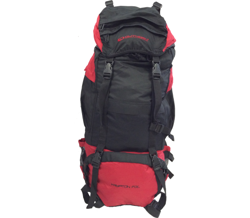 Rucsac Outhorn Krypton 70 Black- Red