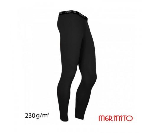Pantaloni First Layer Merinito Lungi Negri