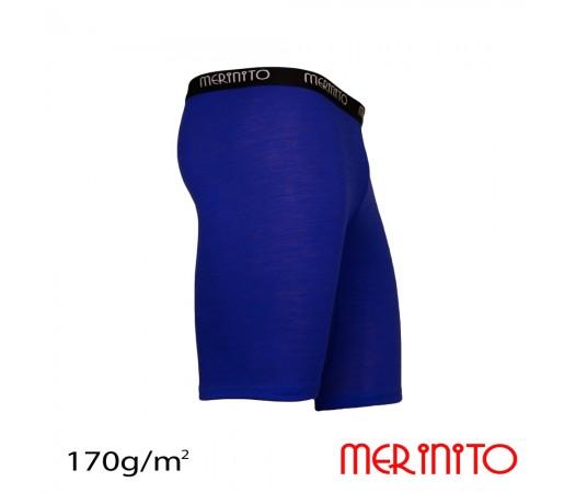 Pantaloni scurti First Layer Merinito Albastri