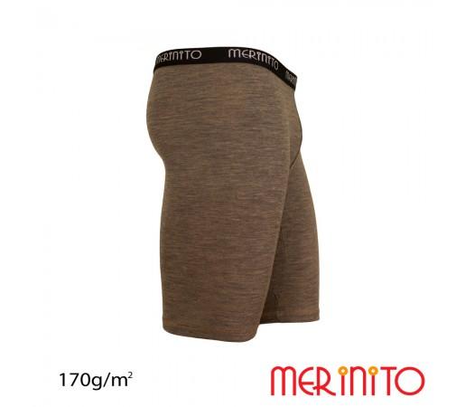 Pantaloni scurti First Layer Merinito Gri