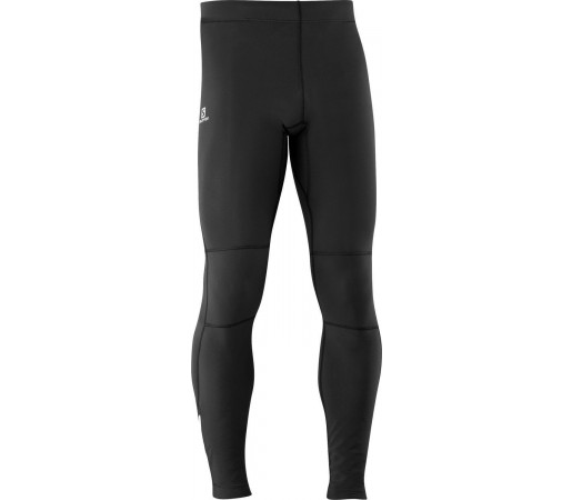 Pantaloni Salomon MOMEMTUM WARM M BLACK