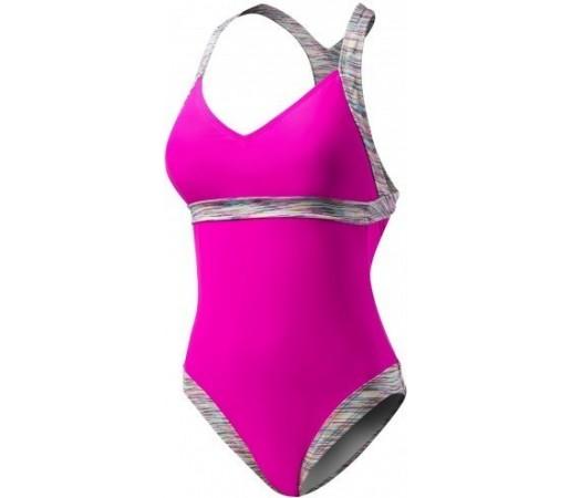 Costum de baie Tyr Sonoma V-Neck Open Back Roz