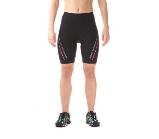 Pantaloni scurti ciclism Nordblanc W Steady Dryfor Negri/Roz