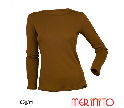 Bluza First Layer Dama Merinito185g/mp Olive