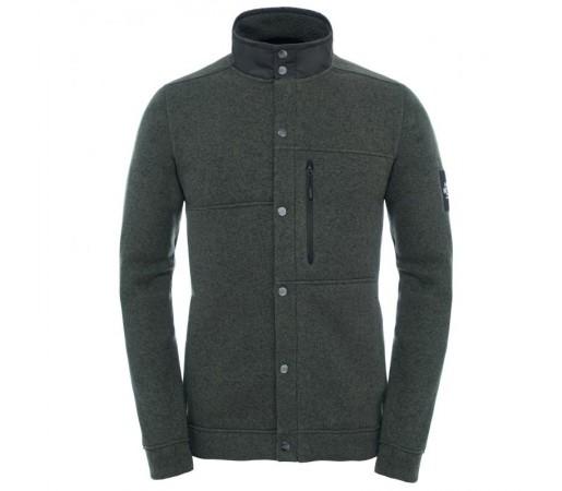 Bluza Cardigan The North Face Denali M Verde