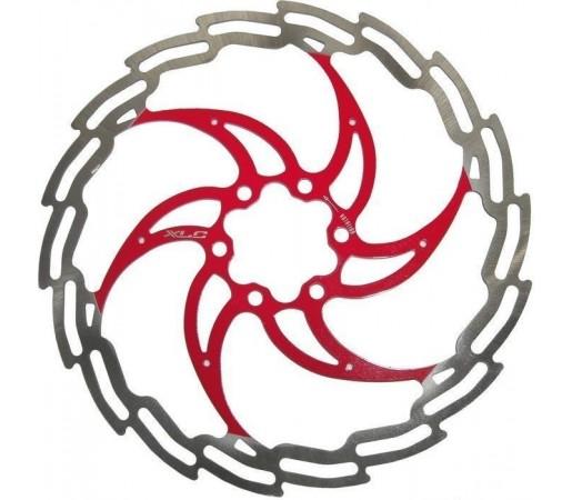 Disc de frana Xlc Silver- Red
