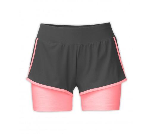 Pantaloni scurti The North Face W Dynamix Stretch Albastru/Roz