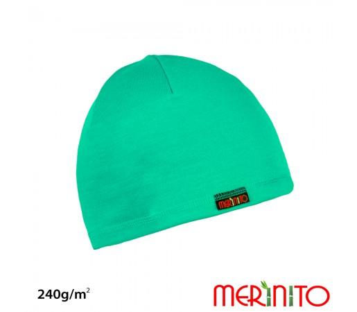Caciula Merinito Merinos + Bambus 240g Turcoaz