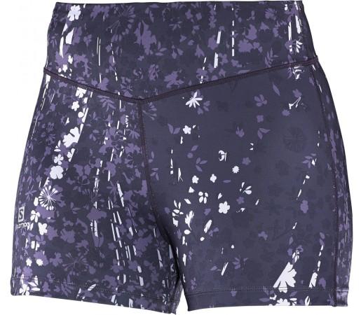 Pantaloni scurti Salomon Elevate Shorty W Violet
