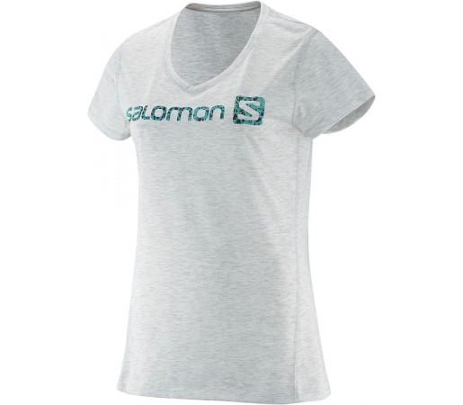 Tricou Salomon Elevate SS Tech Tee W Alb