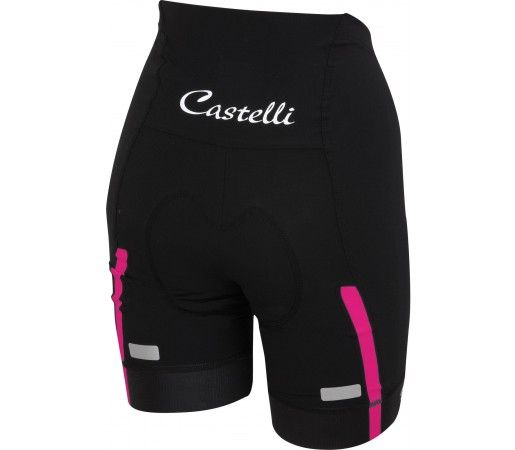 Pantaloni ciclism Castelli Velocissima Negru/ Roz