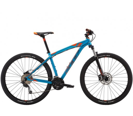 Bicicleta de munte Felt Nine 60 29er Albastru Portocaliu 2016