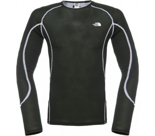 First Layer The North Face Light Crew Neck  Black