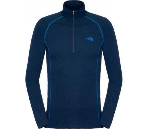 First Layer The North Face Warm 1/4 zip Blue