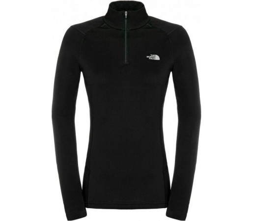 First Layer The North Face Warm 1/4 zip W Black