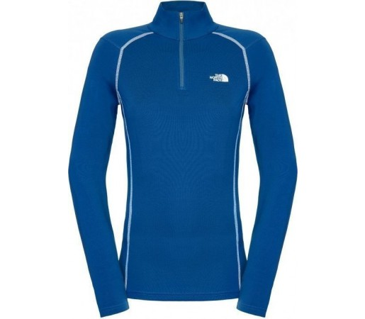 First Layer The North Face Warm 1/4 zip W Blue