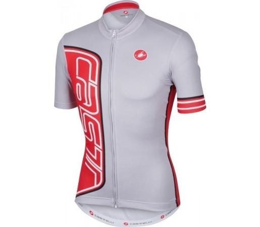 Tricou ciclism Castelli Formula Alb