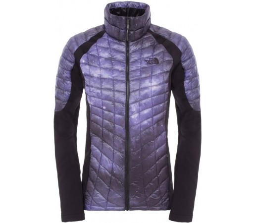 Geaca The North Face Momentum Thermoball Hybrid Mov/Negru