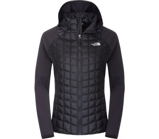 Geaca The North Face W Thermoball Hybrid Hoodie Negru