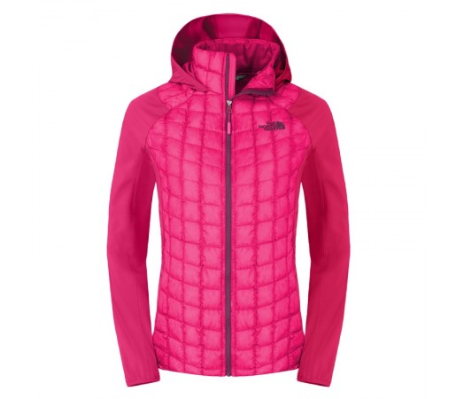 Geaca The North Face W Thermoball Hybrid Hoodie Roz